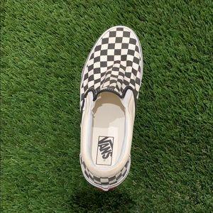 ⭐️Left Shoe Vans Checkered Slip On